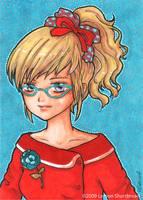 Cat Eye Glasses by yuzukko