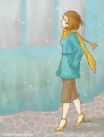 Strolling in heels by yuzukko