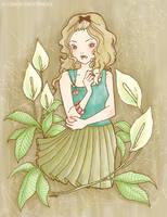 Spathiphyllum by yuzukko