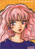 Pink Haired 80s by yuzukko
