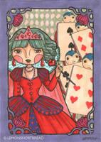 Queen of Hearts II by yuzukko