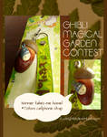Ghibli Magical Garden Contest Prize by yuzukko
