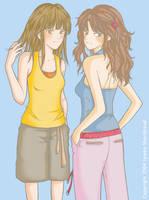 2 Girls by yuzukko