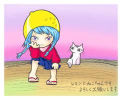 Lemon and Neko-chan by yuzukko