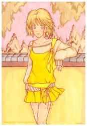 Girl in Park ver. markers by yuzukko