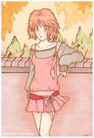 Girl in Park ver. CG by yuzukko