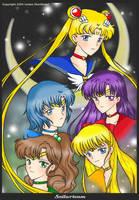 Fanart request: Sailorteam by yuzukko
