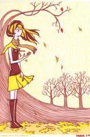 End of autumn by yuzukko