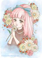 Daisy Ribbon Lucille by yuzukko