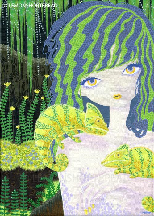 Chameleon Gardens by yuzukko