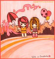 Girls in Cemetaries by yuzukko