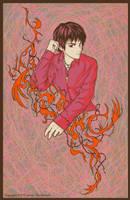 Gadreel in anime by yuzukko