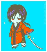 Chibi Oni Ronin by yuzukko