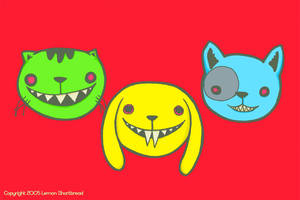 chomper pets by yuzukko