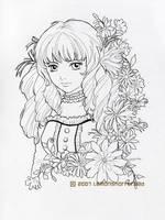 Appleberry Lolita Lineart by yuzukko