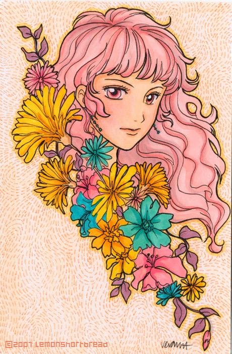 Flower Girl Autumn by yuzukko