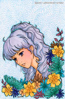Flower Girl Winter by yuzukko