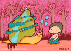Snail Conversation by yuzukko