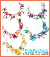 Charm Bracelets by yuzukko