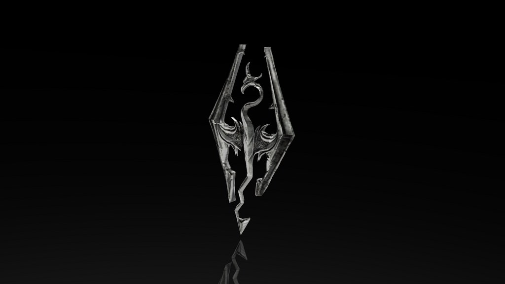dragonborn​_skyrim_el​der_scroll​s_logo_3d_​render_by_​homelessgo​omba-d737m​sg