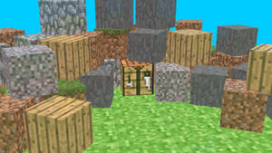 MINECRAFT BLOCKS! Minecraft Cubes 3D Render by HomelessGoomba
