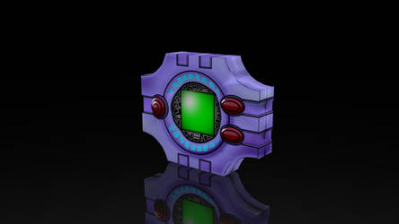 DIGIVICE! Digimon Digital Monsters 3D Render
