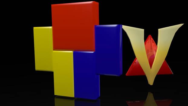 HOMELESSGOOMBA Venturiantale Logo 3D Model Render