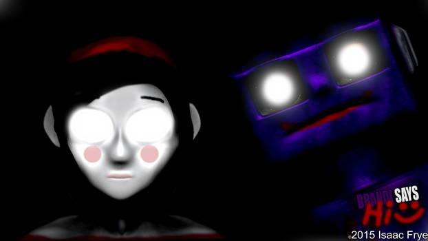 BRANDI SAYS HI HD Wallpaper! - 2D Horror Game