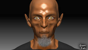 MASTER XEHANORT - Kingdom hearts 3D Model Render by HomelessGoomba