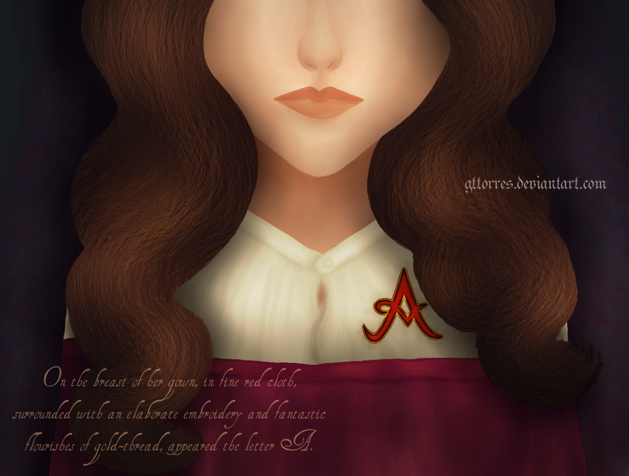 the relation of hester prynne and the scarlet letter Nathaniel later added a w to make his name hawthorne in order to hide this relation  next to hester prynne herself,  the scarlet letter, and hester's passion.