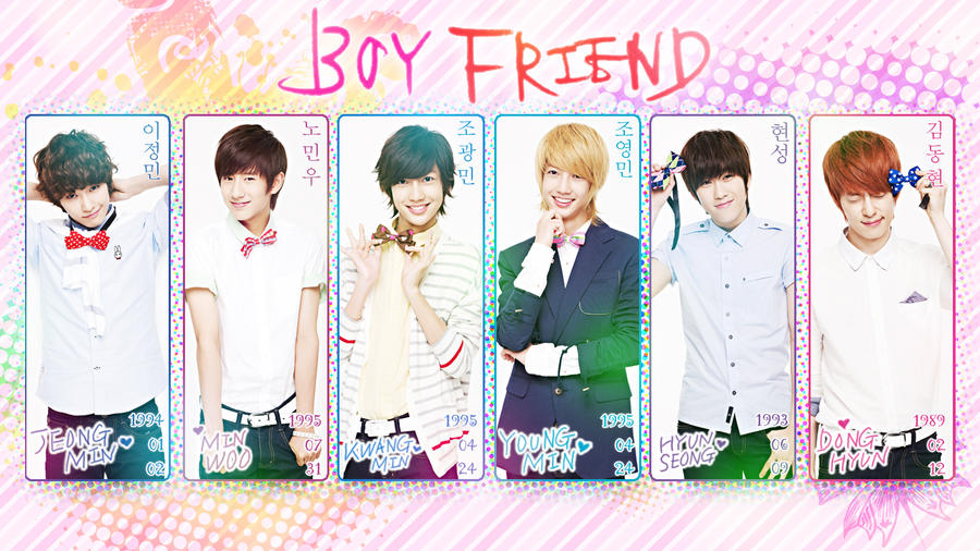 Love U Wallpaper For Boyfriend : BoyFriend Wallpaper WIDEScREEN by Yuukarin on DeviantArt