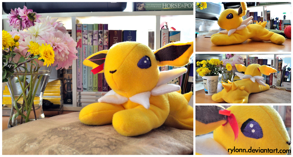 Baby Jolteon Plushie! by Rylonn