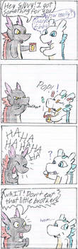 Dragon Brothers Comic for J-C by Raichulolrat