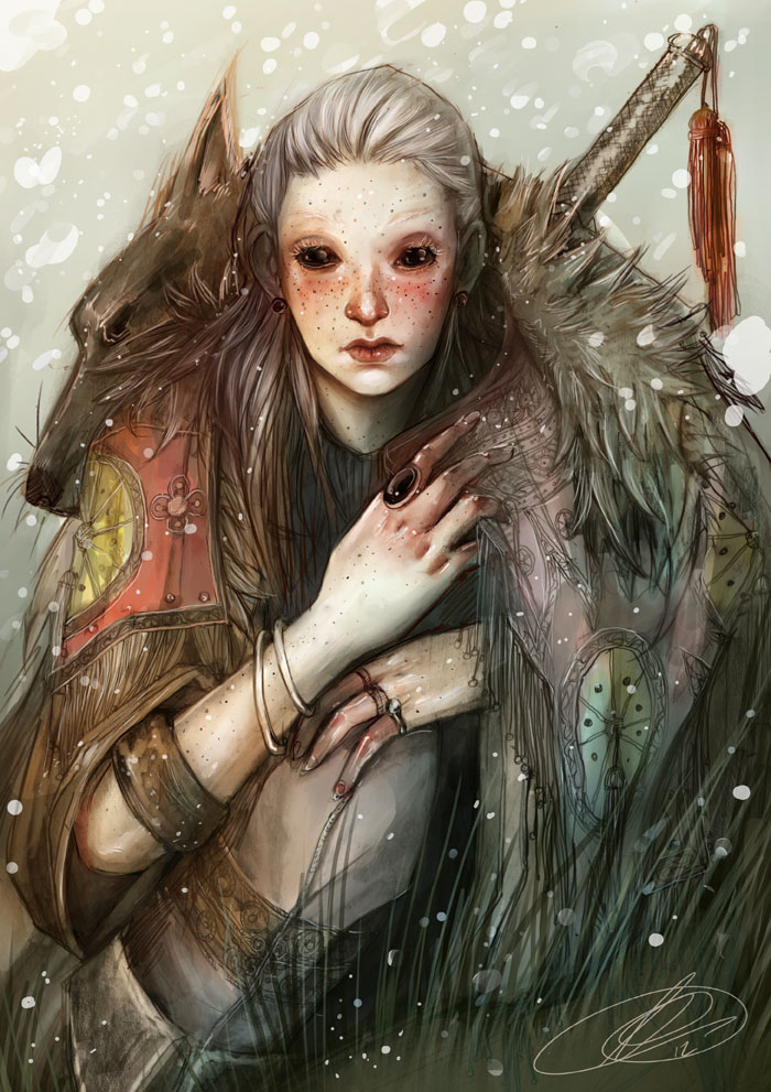 Wolf by JunoSoldier