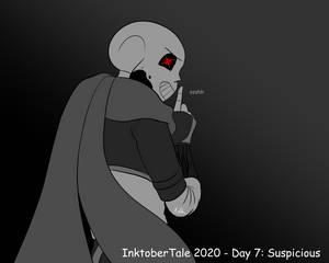 InktoberTale 2020 - Day 7: Suspicious