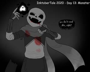 InktoberTale 2020 - Day 13: Monster