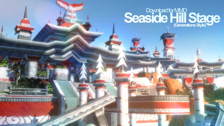 [MMD] Seaside Hill (Gen. Style) Stage Download