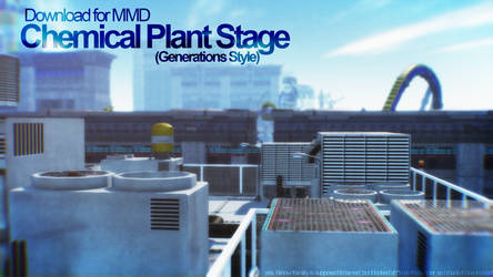 [MMD] Chemical Plant (Gen. Style) Stage Download