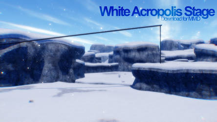[MMD] White Acropolis Stage Download