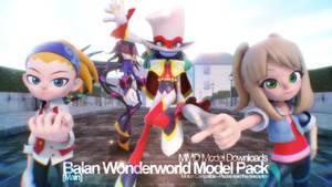 [MMD] Balan Wonderworld Model Pack - Main