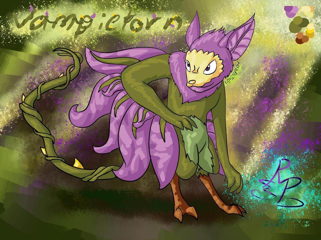 StrongPower Character: Vampietorn by PalosCheco