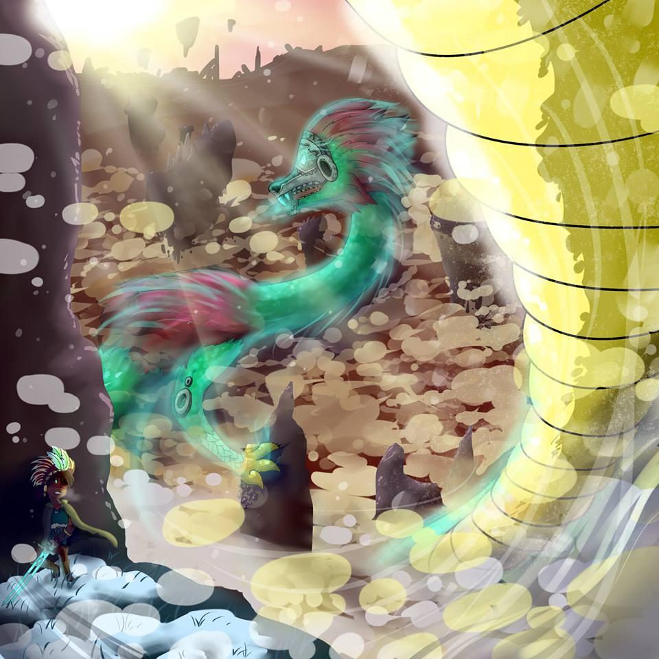 Quetzalcoatl by PalosCheco