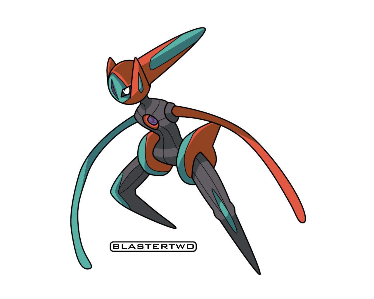 Deoxys -Speed- by blastertwo on deviantART