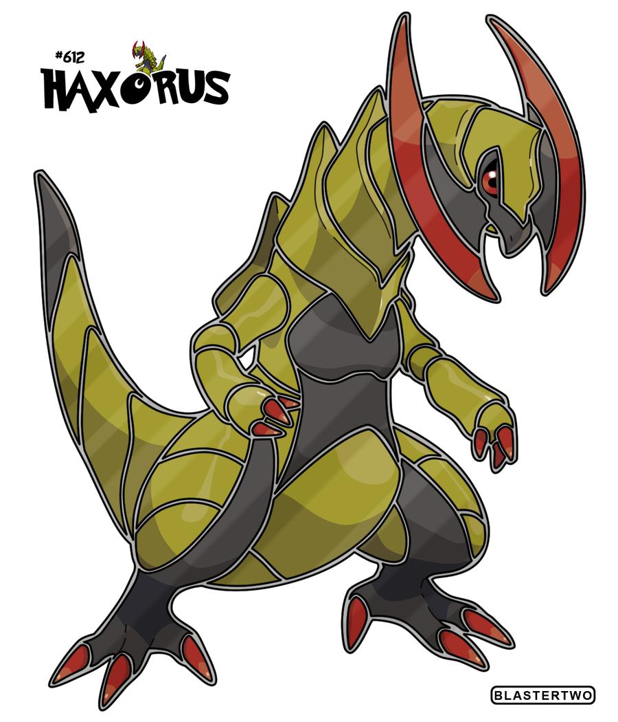 Haxorus coloring pages - Deviantid