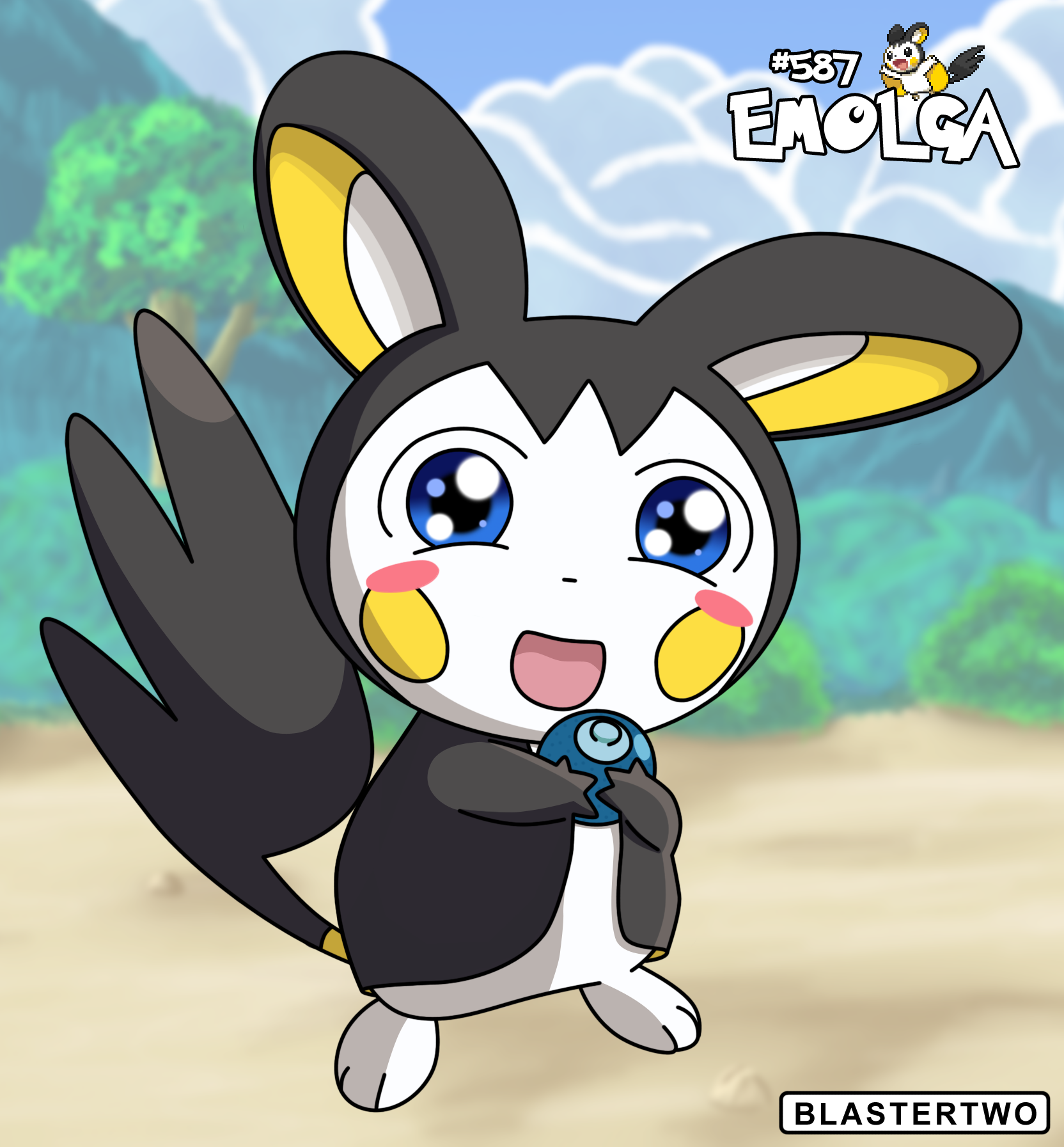 emolga attract - photo #33