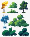 Skecth Foliage