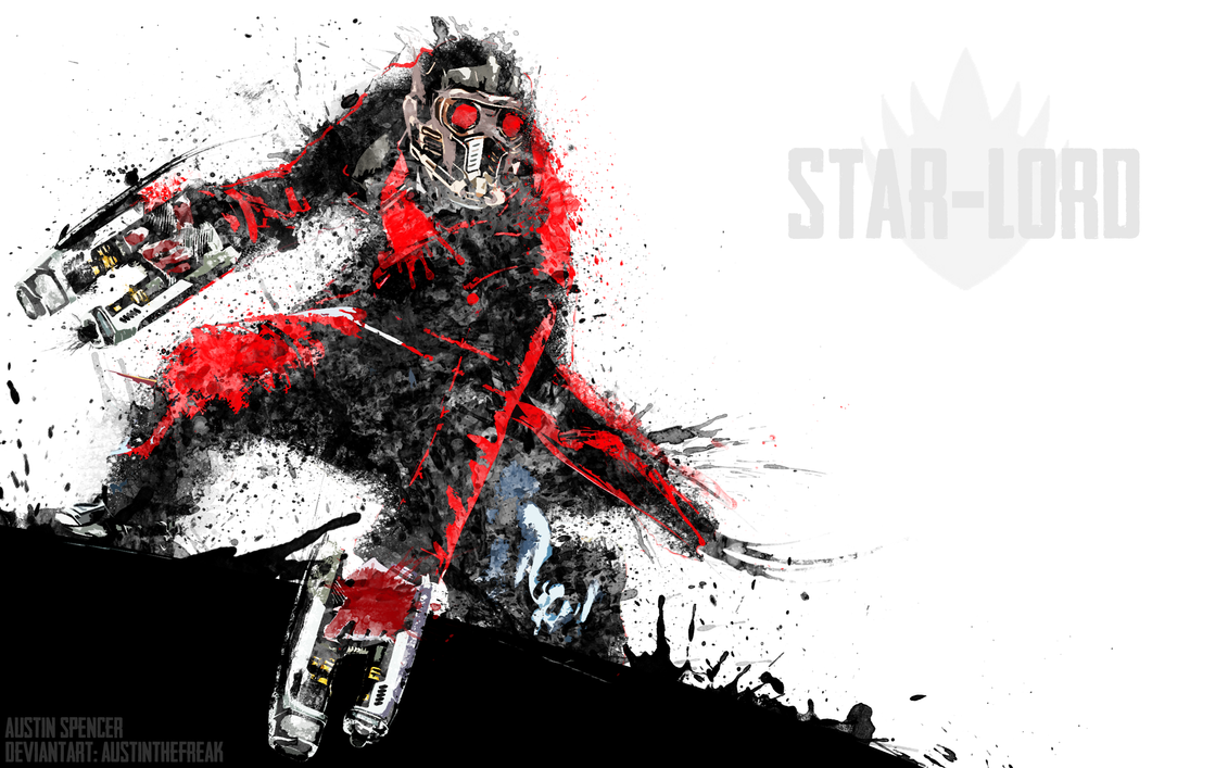 Must see Wallpaper Marvel Star Lord - star_lord_by_austinthefreak-d7pyf4e  Snapshot_15125.png