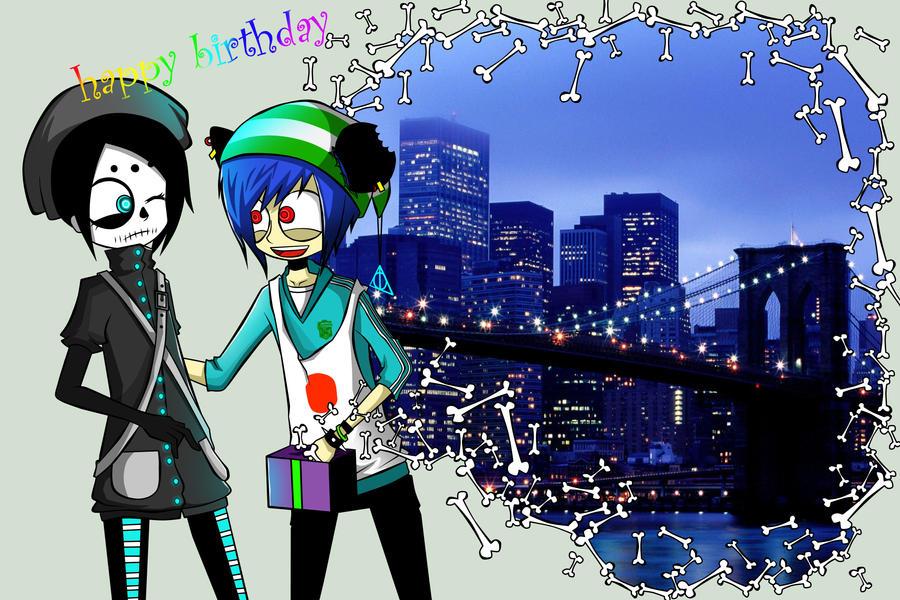 happy birthday by ren-danny