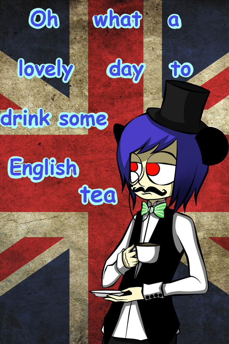 ren is Englishman hahaha by ren-danny