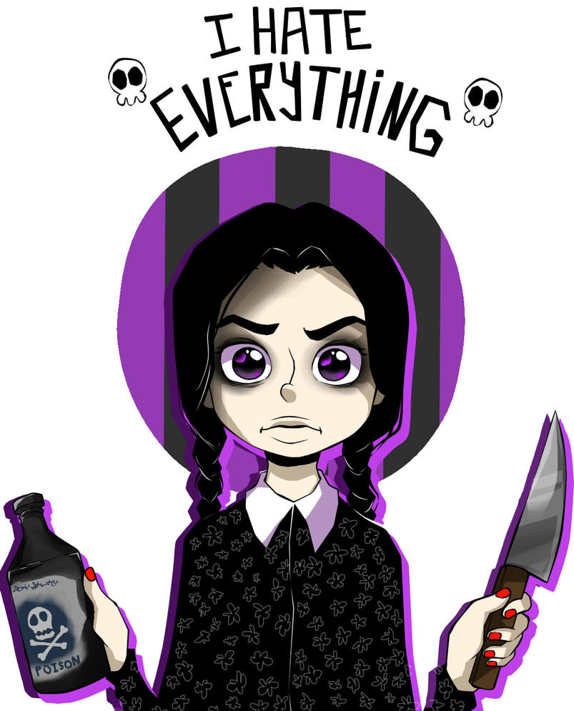 Wednesday Addams by ren-danny